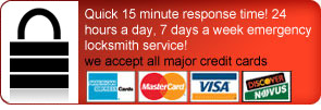 Locksmith Woodway Credit card accepted